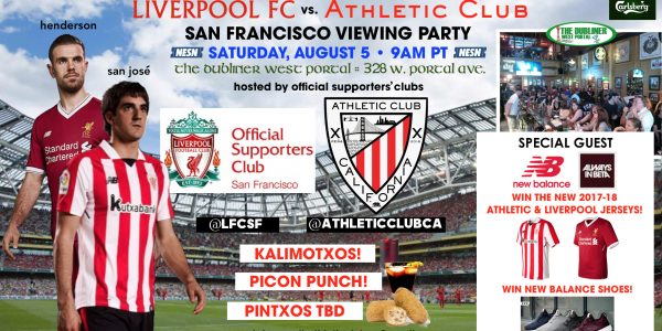 Viewing Party: Athletic Club vs. Liverpool FC!